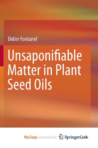 9783642357114: Unsaponifiable Matter in Plant Seed Oils