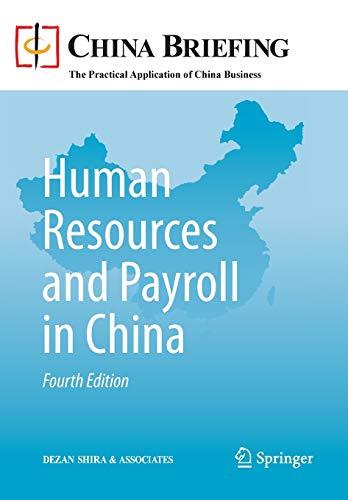 9783642360411: Human Resources and Payroll in China (China Briefing)