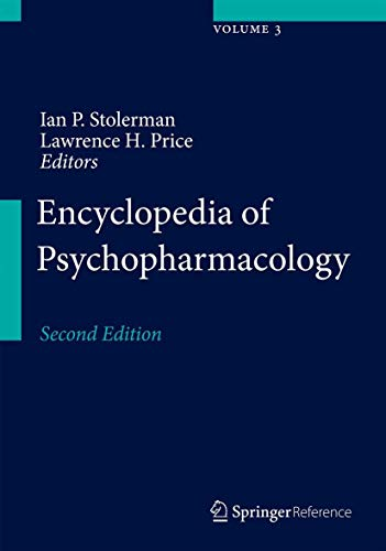 Encyclopedia of Psychopharmacology (Hardcover): Price