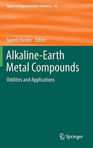 Alkaline-Earth Metal Compounds: Sjoerd Harder
