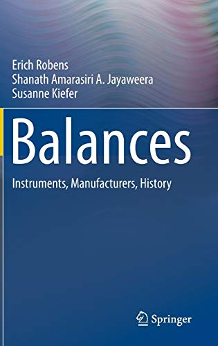 9783642364464: Balances: Instruments, Manufacturers, History