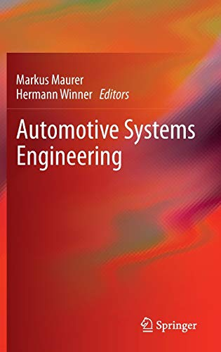9783642364549: Automotive Systems Engineering