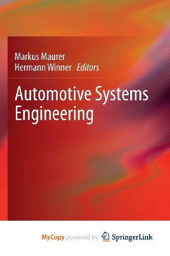 9783642364563: Automotive Systems Engineering