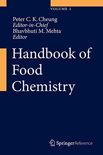 9783642366048: Handbook of Food Chemistry