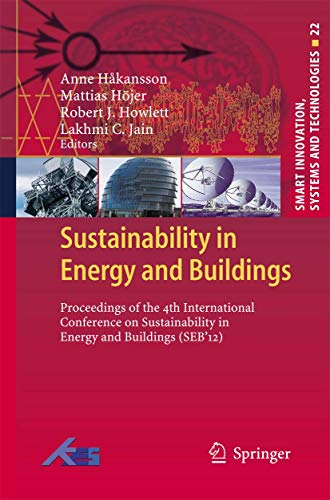 Sustainability in Energy and Buildings: Anne Hakansson