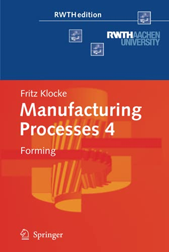 Manufacturing Processes 4: Fritz Klocke