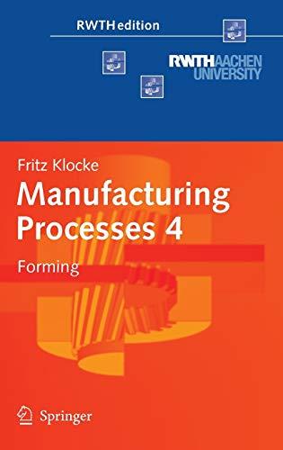 Manufacturing Processes 4: Fritz Klocke
