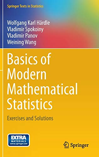 9783642368493: Basics of Modern Mathematical Statistics: Exercises and Solutions (Springer Texts in Statistics)