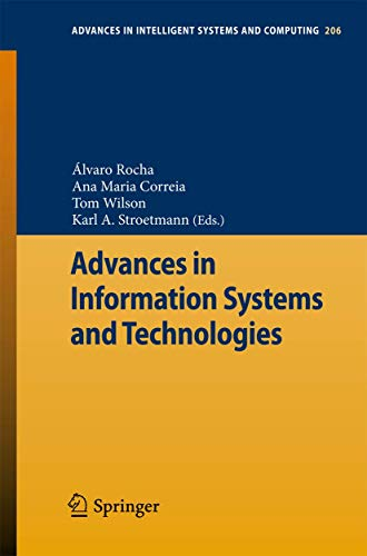 9783642369803: Advances in Information Systems and Technologies (Advances in Intelligent Systems and Computing)