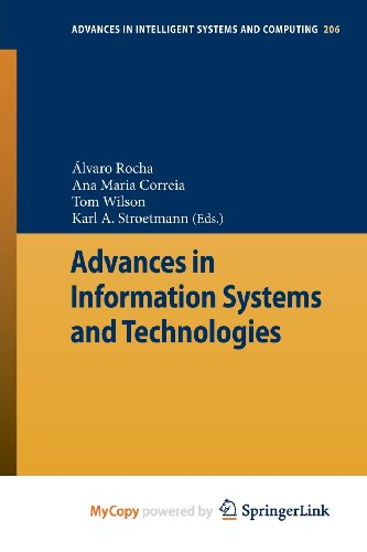 9783642369827: Advances in Information Systems and Technologies