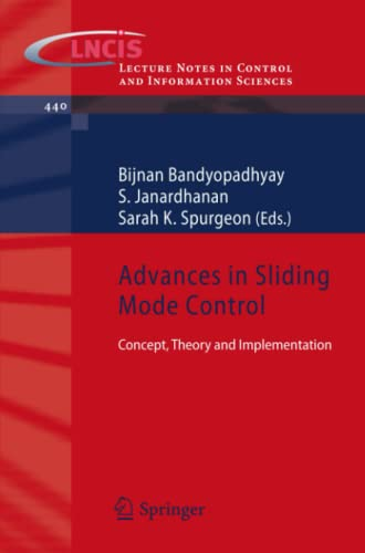 9783642369858: Advances in Sliding Mode Control: Concept, Theory and Implementation (Lecture Notes in Control and Information Sciences)