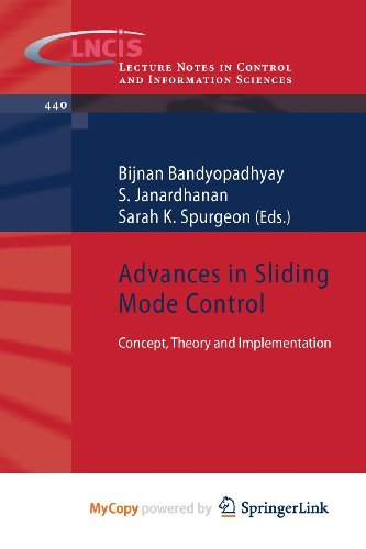 9783642369872: Advances in Sliding Mode Control: Concept, Theory and Implementation