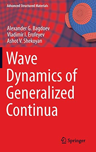 9783642372667: Wave Dynamics of Generalized Continua (Advanced Structured Materials)
