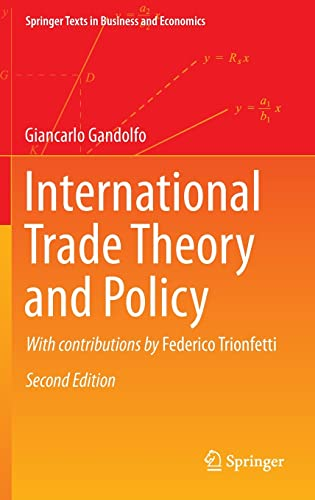 International trade theory and policy.: Gandolfo, Giancarlo; Trionfetti,