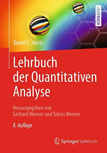 9783642377877: Lehrbuch der Quantitativen Analyse