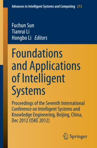 Foundations and Applications of Intelligent Systems: Hongbo Li
