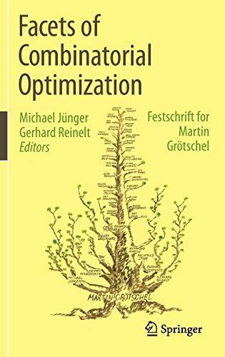 9783642381881: Facets of Combinatorial Optimization: Festschrift for Martin Grotschel