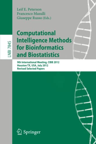 Computational Intelligence Methods for Bioinformatics and Biostatistics:
