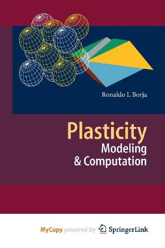9783642385483: Plasticity: Modeling & Computation