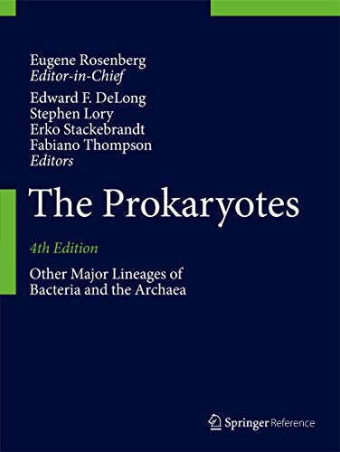 9783642389559: The Prokaryotes: Other Major Lineages of Bacteria and The Archaea