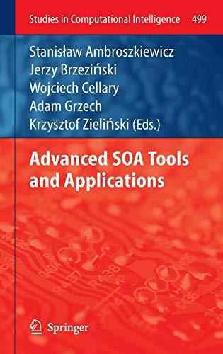 Advanced SOA Tools and Applications (Hardback)