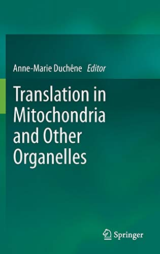 9783642394256: Translation in Mitochondria and Other Organelles