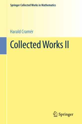 9783642396847: Collected Works II (Springer Collected Works in Mathematics) (German and English Edition)