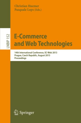 E-Commerce, and Web Technologies: Christian Huemer
