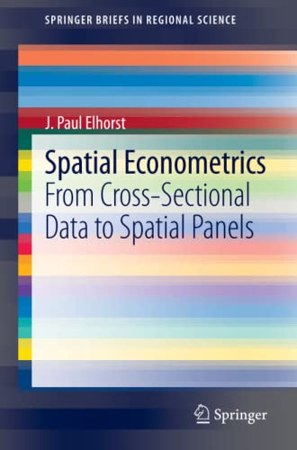 9783642403392: Spatial Econometrics: From Cross-Sectional Data to Spatial Panels (SpringerBriefs in Regional Science)