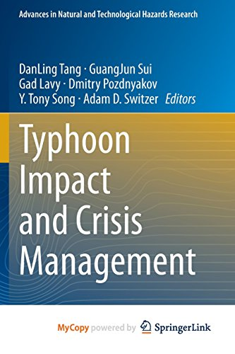 9783642406966: Typhoon Impact and Crisis Management