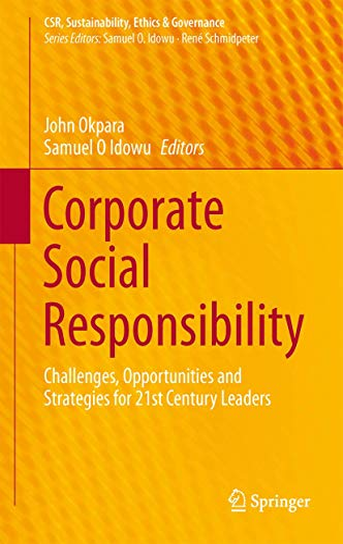 Corporate Social Responsibility: John Okpara