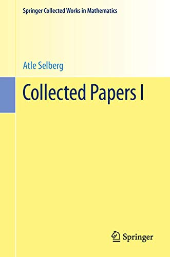 9783642410215: Collected Papers I