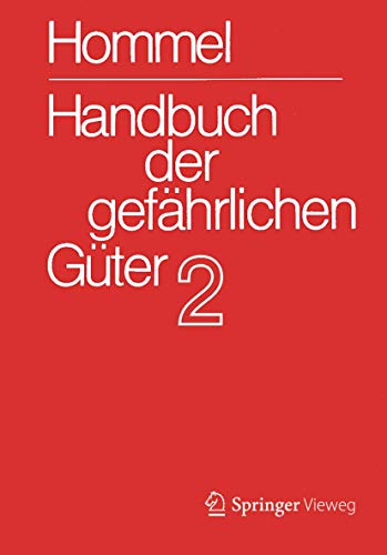 Handbuch Der Gefahrlichen Guter. Band 2: Merkblatter 415 802 (Hardcover)