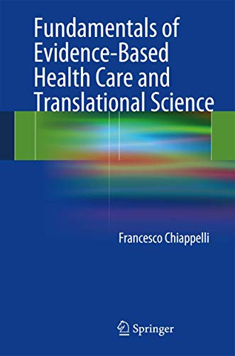 9783642418563: Fundamentals of Evidence-Based Health Care and Translational Science