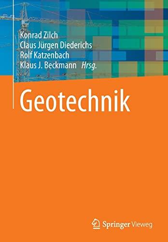 9783642418716: Geotechnik (German Edition)