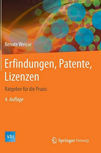 Erfindungen, Patente, Lizenzen: Renate Weisse