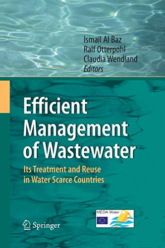 9783642420832: Efficient Management of Wastewater: Its Treatment and Reuse in Water-Scarce Countries