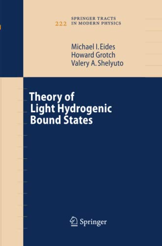 9783642421082: Theory of Light Hydrogenic Bound States (Springer Tracts in Modern Physics)