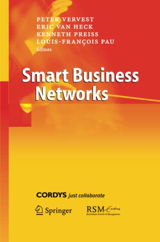 9783642421501: Smart Business Networks