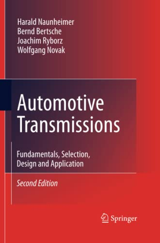 9783642422560: Automotive Transmissions: Fundamentals, Selection, Design and Application