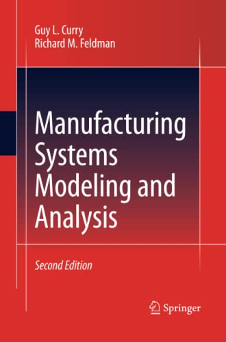 9783642423598: Manufacturing Systems Modeling and Analysis