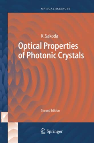 9783642424083: Optical Properties of Photonic Crystals (Springer Series in Optical Sciences)