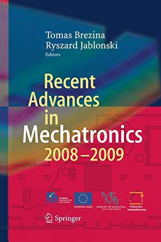 9783642424977: Recent Advances in Mechatronics: 2008 - 2009