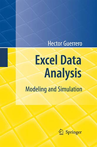 9783642426209: Excel Data Analysis: Modeling and Simulation