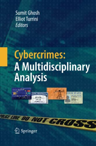 9783642426414: Cybercrimes: A Multidisciplinary Analysis