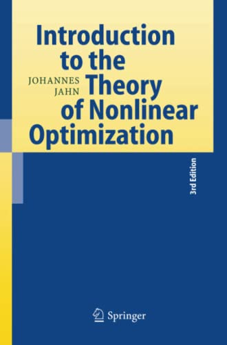 9783642426575: Introduction to the Theory of Nonlinear Optimization