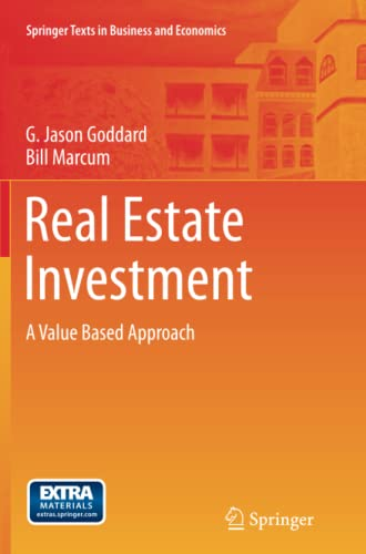 9783642427053: Real Estate Investment: A Value Based Approach (Springer Texts in Business and Economics)