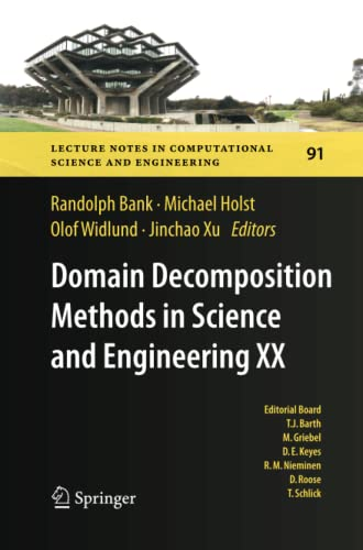 9783642429194: Domain Decomposition Methods in Science and Engineering XX (Lecture Notes in Computational Science and Engineering)