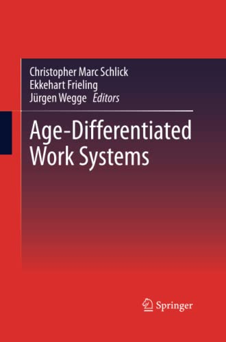 9783642429798: Age-Differentiated Work Systems
