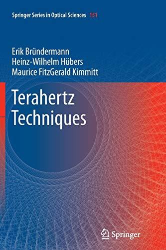 9783642430060: Terahertz Techniques (Springer Series in Optical Sciences)